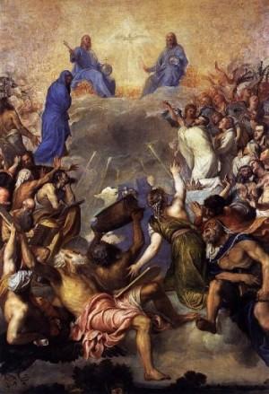 Tiziano Vecellio Trójca Święta w chwale