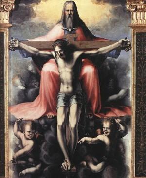 Domenico Beccafumi Trójca Święta
