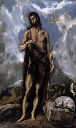 El Greco Św. Jan Chrzciciel
