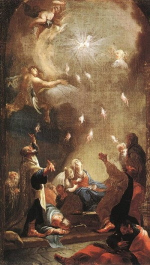 Joseph Ignaz Mildorfer Zesłanie Ducha Świętego