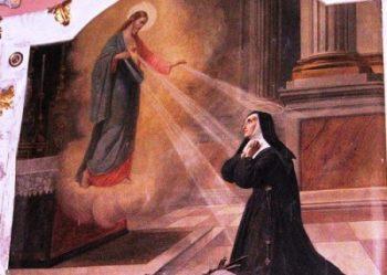 San Michele Św. Małgorzata Maria Alacoque (fresk)