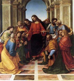 Luca Signorelli Komunia Apostołów
