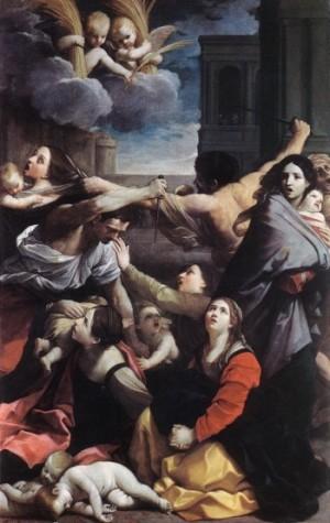 Guido Reni Rzeź niewiniątek
