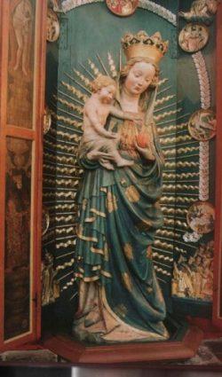Gdańska Piękna Madonna - Bazylika Mariacka