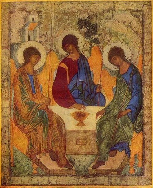 Andrej Rublow Trójca Święta