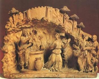 Benedetto da Maiano Chrystus i Samarytanka