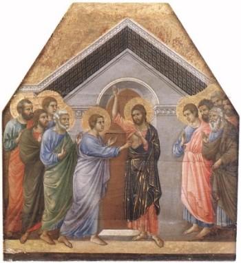 Duccio di Buoninsegna Niewierny Tomasz
