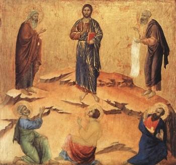 Duccio di Buoninsegna Przemienienie