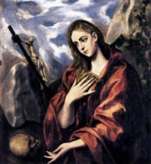 El Greco Pokuta Marii Magdaleny