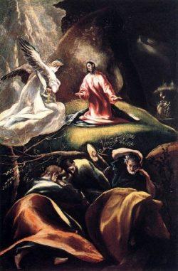 El Greco Agonia w Ogrodzie Oliwnym