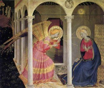 Fra Angelico Zwiastowanie