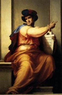 Fra Bartolomeo Prorok Izajasz