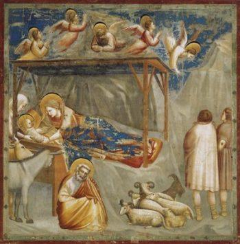 Giotto di Bondone Narodziny Jezusa