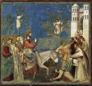 Giotto di Bondone Wjazd do Jerozolimy