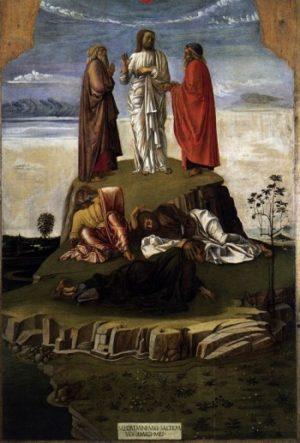 Giovanni Bellini Przemienienie Chrystusa
