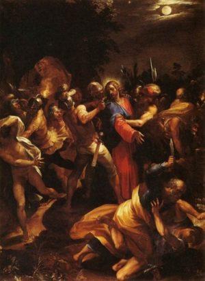 Giuseppe Cesari Judasz zdradza Chrystusa