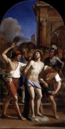 Guercino Biczowanie Chrystusa