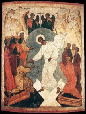 Ikona Rosja Zmartwychwstanie