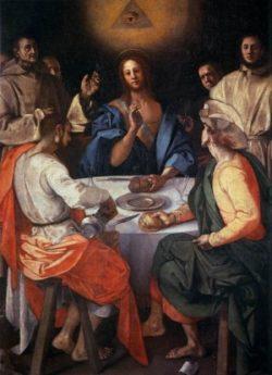 Jacopo Pontormo Wieczerza w Emaus