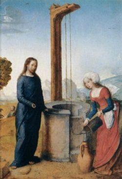 Juan de Flandes Chrystus i Samarytanka