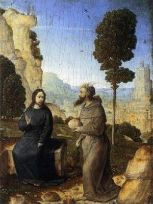 Juan de Flandes Kuszenie Jezusa