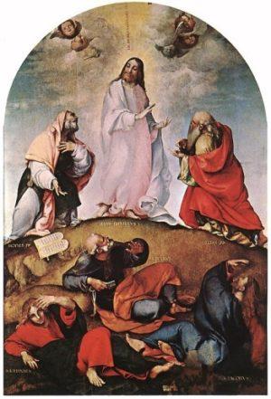 Lorenzo Lotto Przemienienie