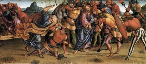 Luca Signorelli Pojmanie Jezusa