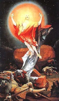 Matthias Grunewald Oltarz z Isenhei Zmartwychwstanie