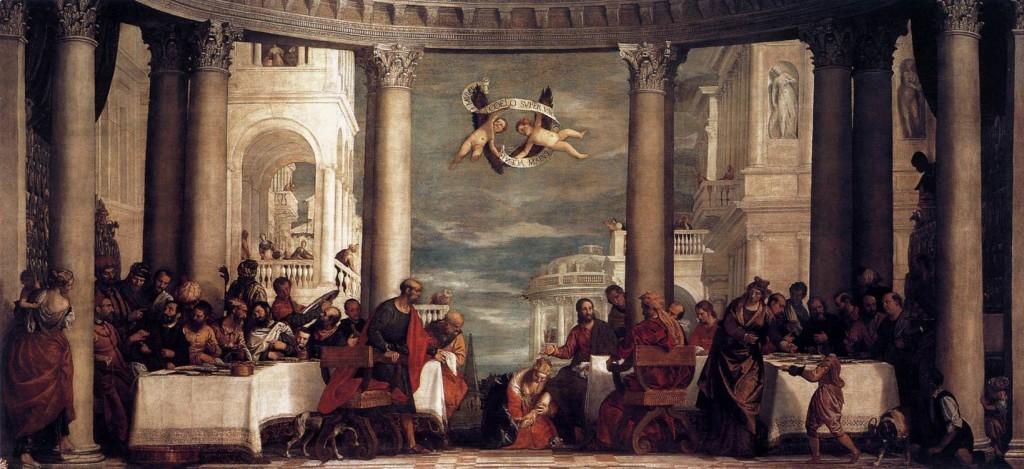 Paolo Veronese Święto w domu Szymona