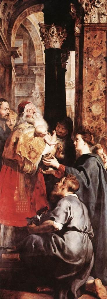 PieterRubens Ofiarowanie Jezusa