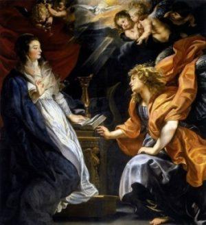 Pieter Rubens Zwiastowanie