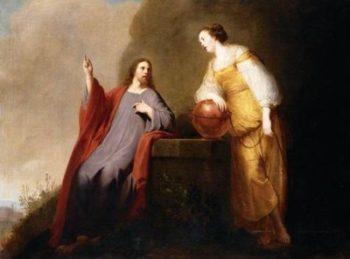 Pieter de Grebber Chrystus i Samarytanka