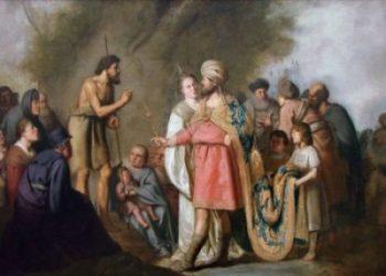 Pieter de Grebber Sw Jan przed Herodem