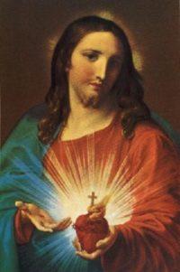 Pompeo Batoni Serce Jezusa