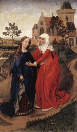 Rogier van der Weyden Nawiedzenie