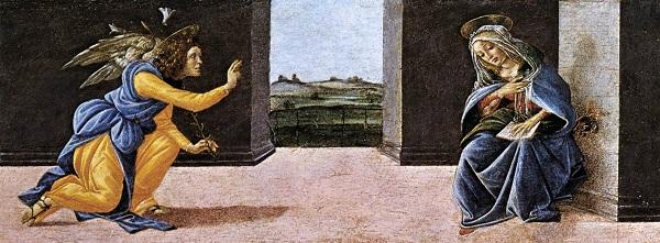 Sandro Botticelli Zwiastowanie