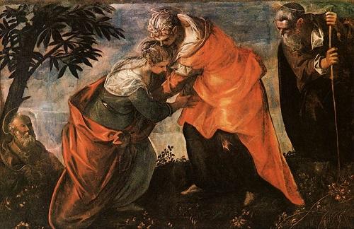 Tintoretto Nawiedzenie
