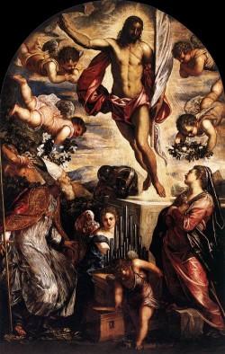 Tintoretto Zmartwychwstanie