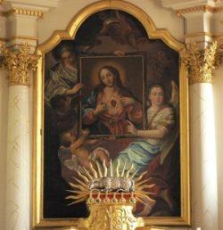 Velburg Malarz nieznany Serce Jezusa