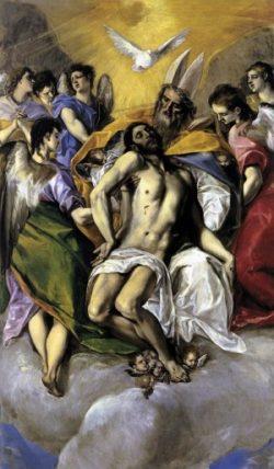 El Greco Trójca Święta