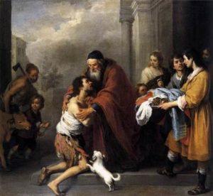 Bartolomé Esteban Murillo Powrót syna marnotrawnego