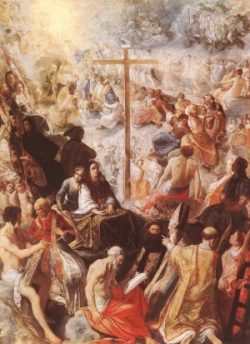 Adam Elsheimer Gloryfikacja Krzyża
