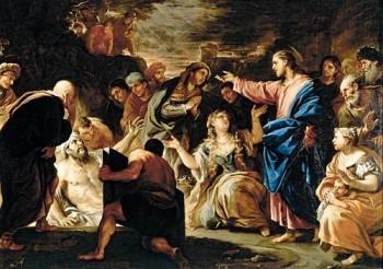 Luca Giordano Wskrzeszenie Łazarza