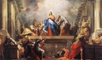 Jean Restout Zesłanie Ducha Świętego