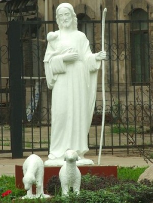 Jezus Dobry Pasterz Katedra Najświętszego Serca w Jinan (Chiny)