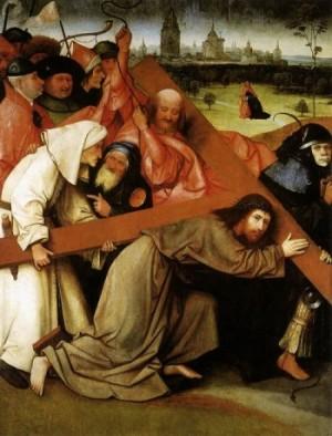 Hieronim Bosch Chrystus dźwiga krzyż