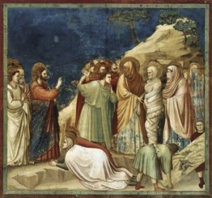 Giotto di Bondone Wskrzeszenie Łazarza