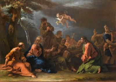 Sebastiano Ricci Kazanie na górze
