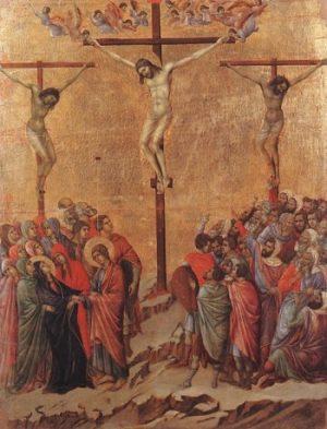 Duccio di Buoninsegna Ukrzyżowanie