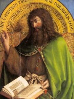 Jan van Eyck Święty Jan Chrzciciel